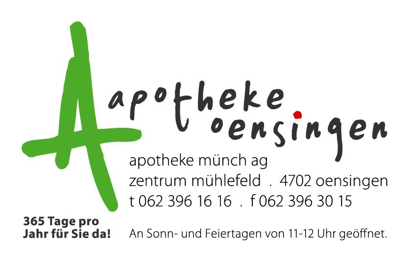 Apotheke Oensingen, Apotheke Münch AG