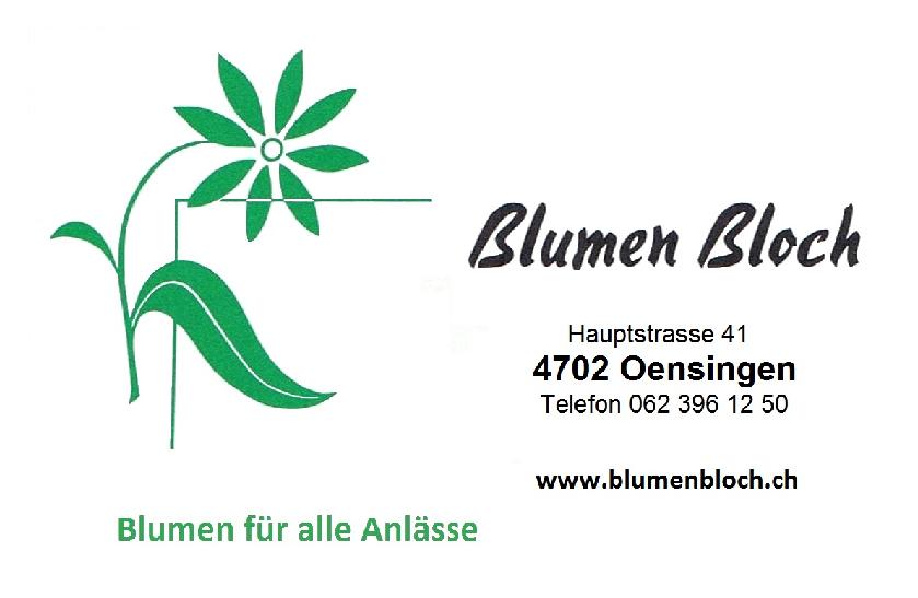 Blumen Bloch